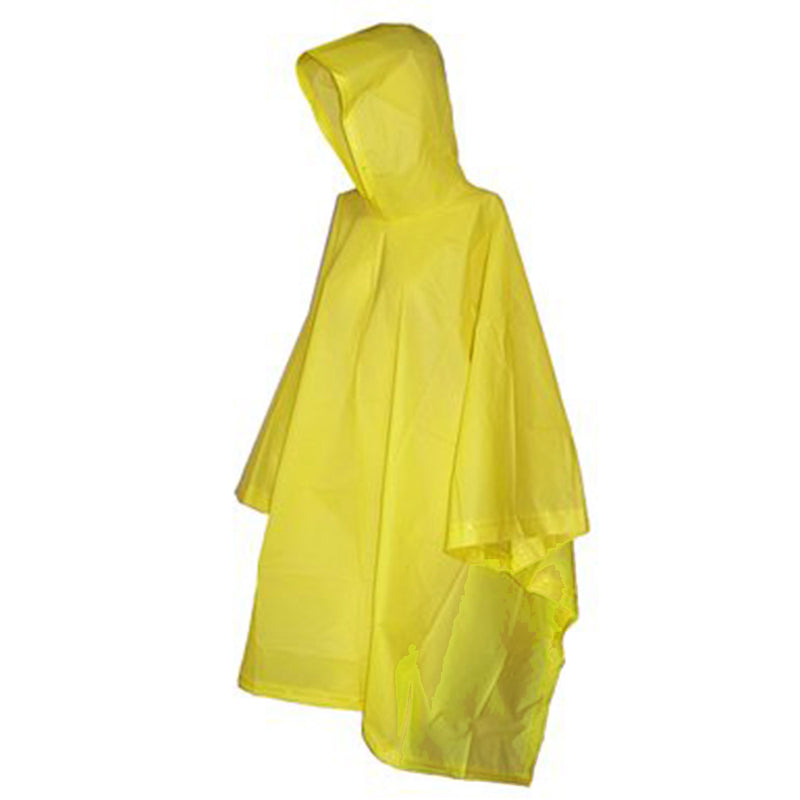 Vinyl Poncho with Hood  - Available from 100 Pieces