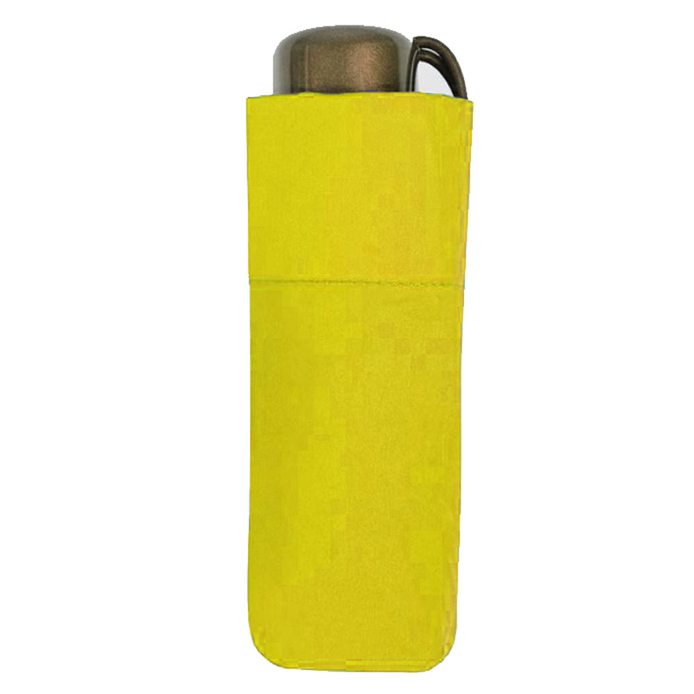 Vogue Tiny UV 50+ Protective Folding Umbrella - Canary Yellow