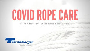Covid-19 (Corona Virus) Rope Disinfection - Teufelberger