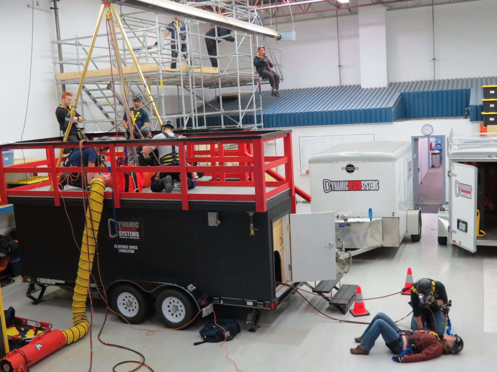 Safety, Medical and Technical Rescue Training - Dynamic