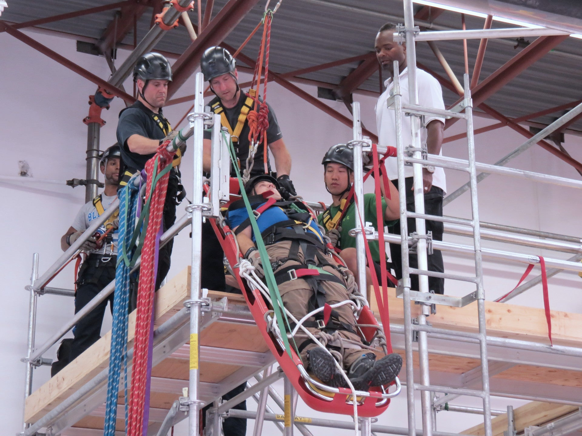 Safety, Medical and Technical Rescue Training - Dynamic Rescue Systems