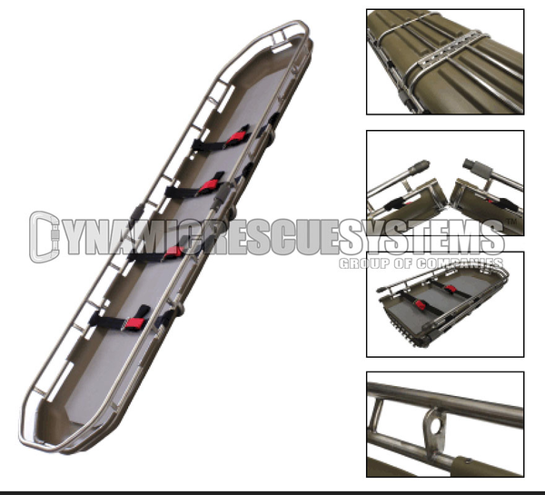 Spartan Split Basket Stretcher - Traverse Rescue - Traverse Rescue - Dynamic Rescue