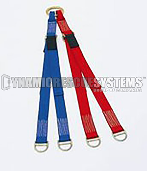 Horizontal Litter Bridle, Adjustable - Traverse Rescue - Traverse Rescue - Dynamic Rescue - 2