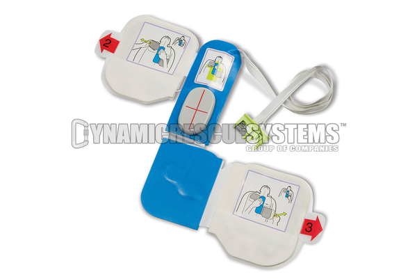 CPR-D Padz Training Electrodes (TO BE USED WITH TRAINER ONLY) - Zoll - Zoll - Dynamic Rescue