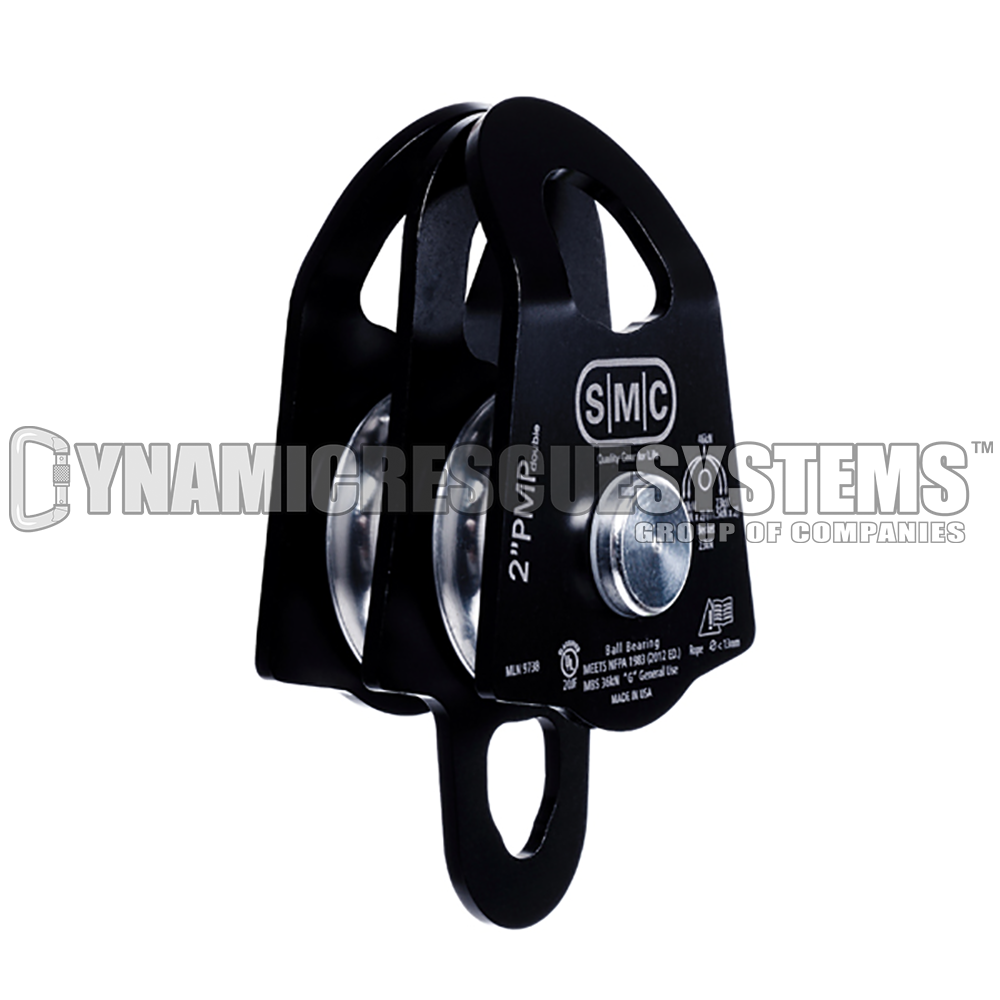 Double Prusik Minding Pulley, Micro (1 3/8 in.) - NFPA, SMC - SMC - Dynamic Rescue - 1