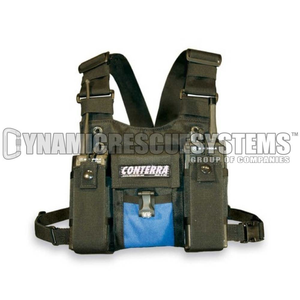 Double Adjusta-Pro II Radio Chest Harness - Conterra - Conterra - Dynamic Rescue