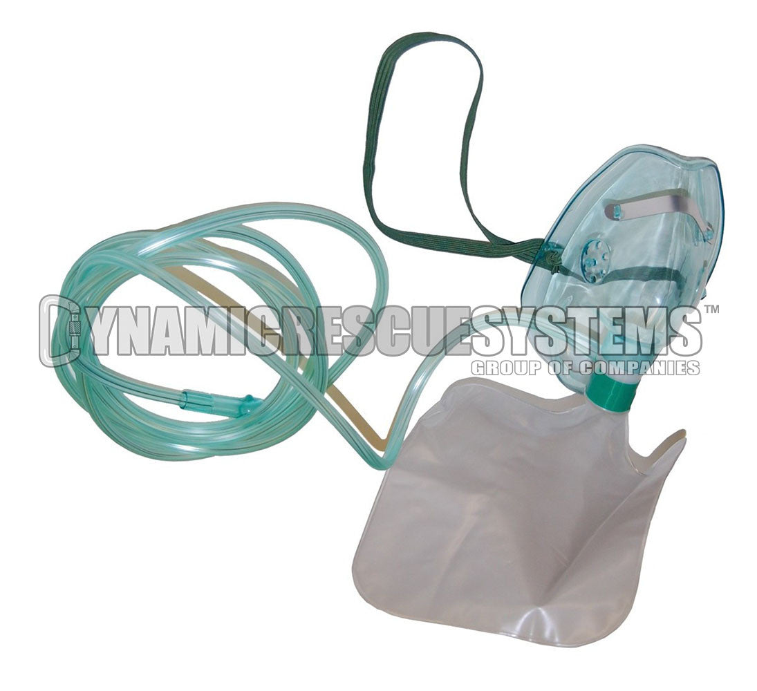 Non-Rebreather Oxygen Mask - Dynamic Rescue Equipment - Dynamic Rescue