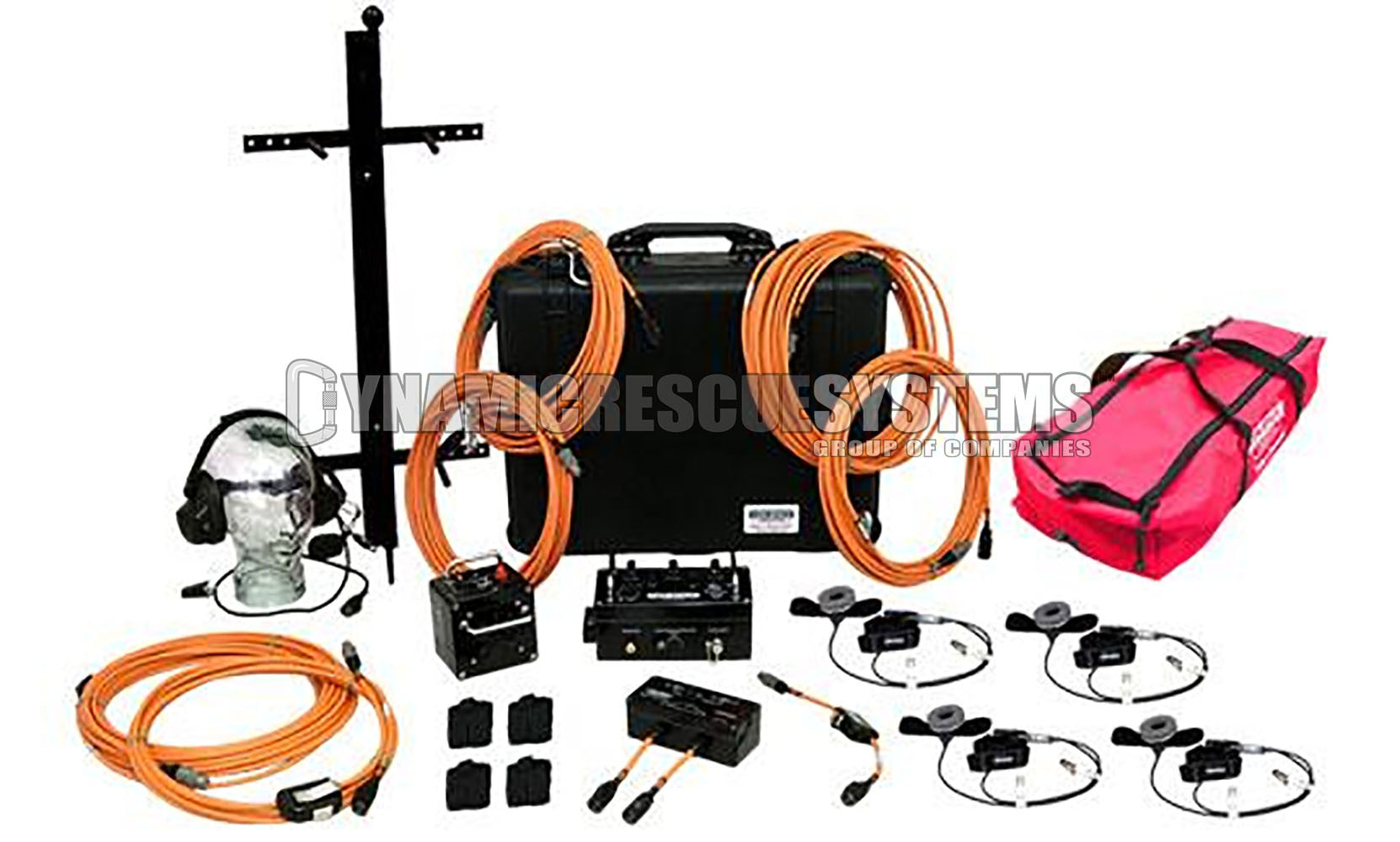 Pre-Packaged Communications Kit, 4 Rescuer - Dynamic Rescue - Dynamic Rescue Systems - Dynamic Rescue