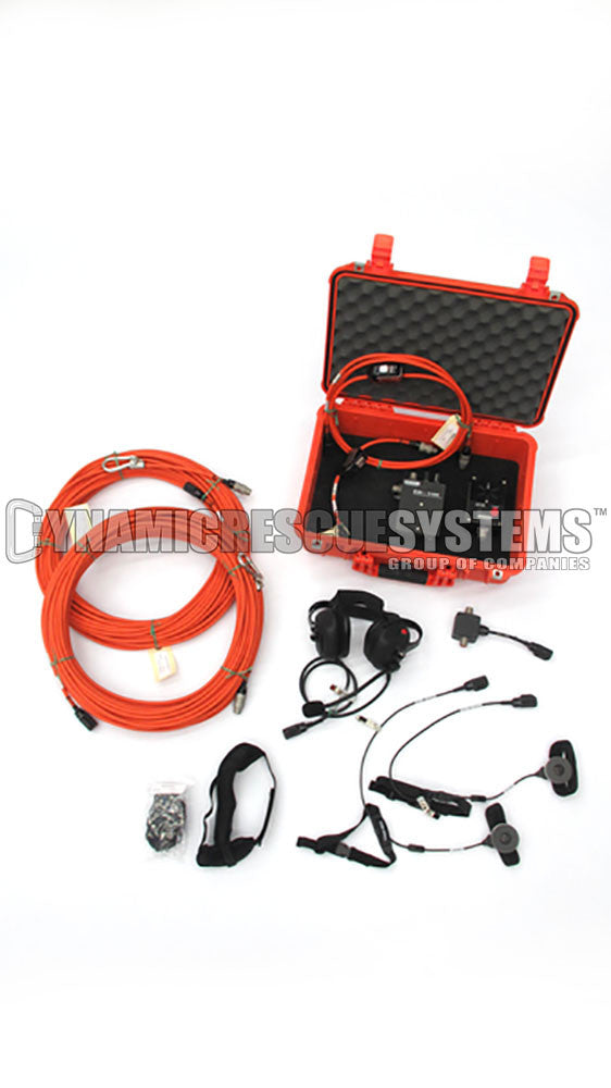 Pre-Packaged Communications Kit, 2 Rescuer - Dynamic Rescue - Dynamic Rescue Systems - Dynamic Rescue