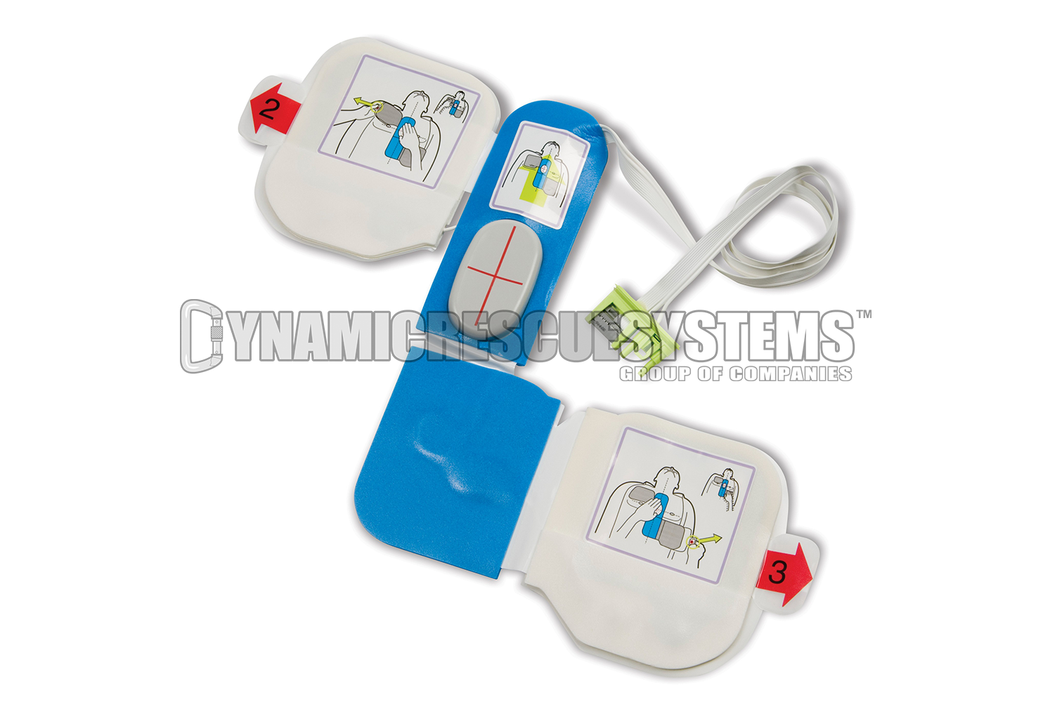 CPR-D Padz one piece defibrillation and CPR System Adult Electrode - Zoll - Zoll - Dynamic Rescue
