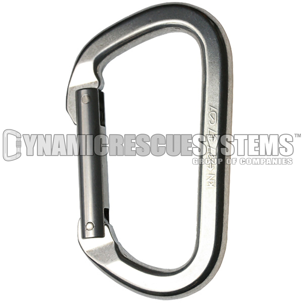 Mountain D Non-Locking Aluminum Carabiner - SMC - SMC - Dynamic Rescue - 1