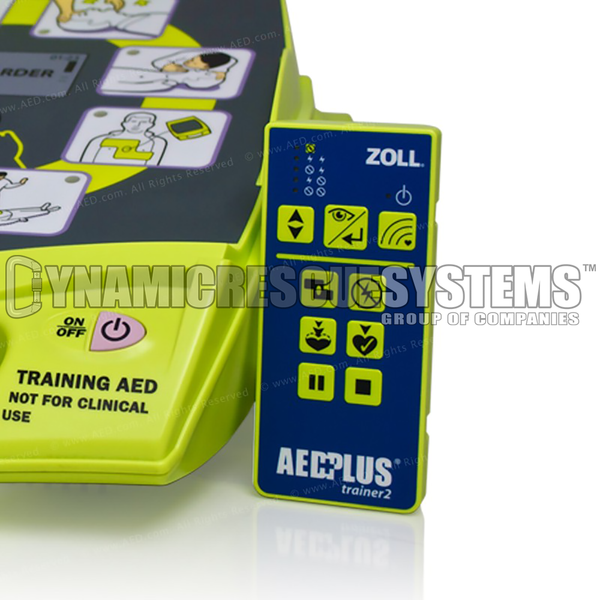 Trainer Wireless Remote Controller with 2 AA batteries (replacement) - Zoll - Zoll - Dynamic Rescue
