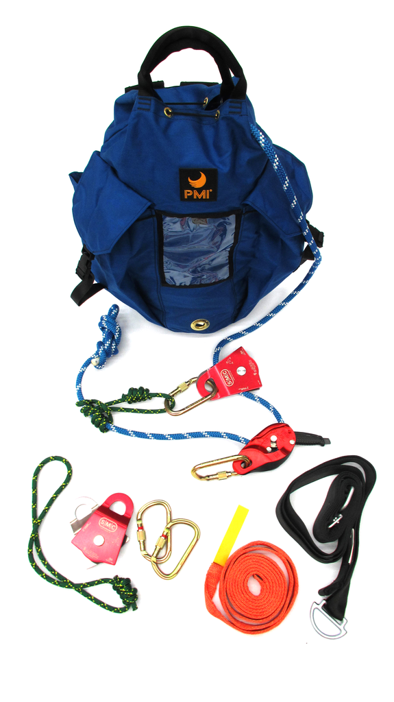 Pre-Packaged Mainline Kit, w/ Petzl I'D - Dynamic Rescue - Dynamic Rescue Systems - Dynamic Rescue