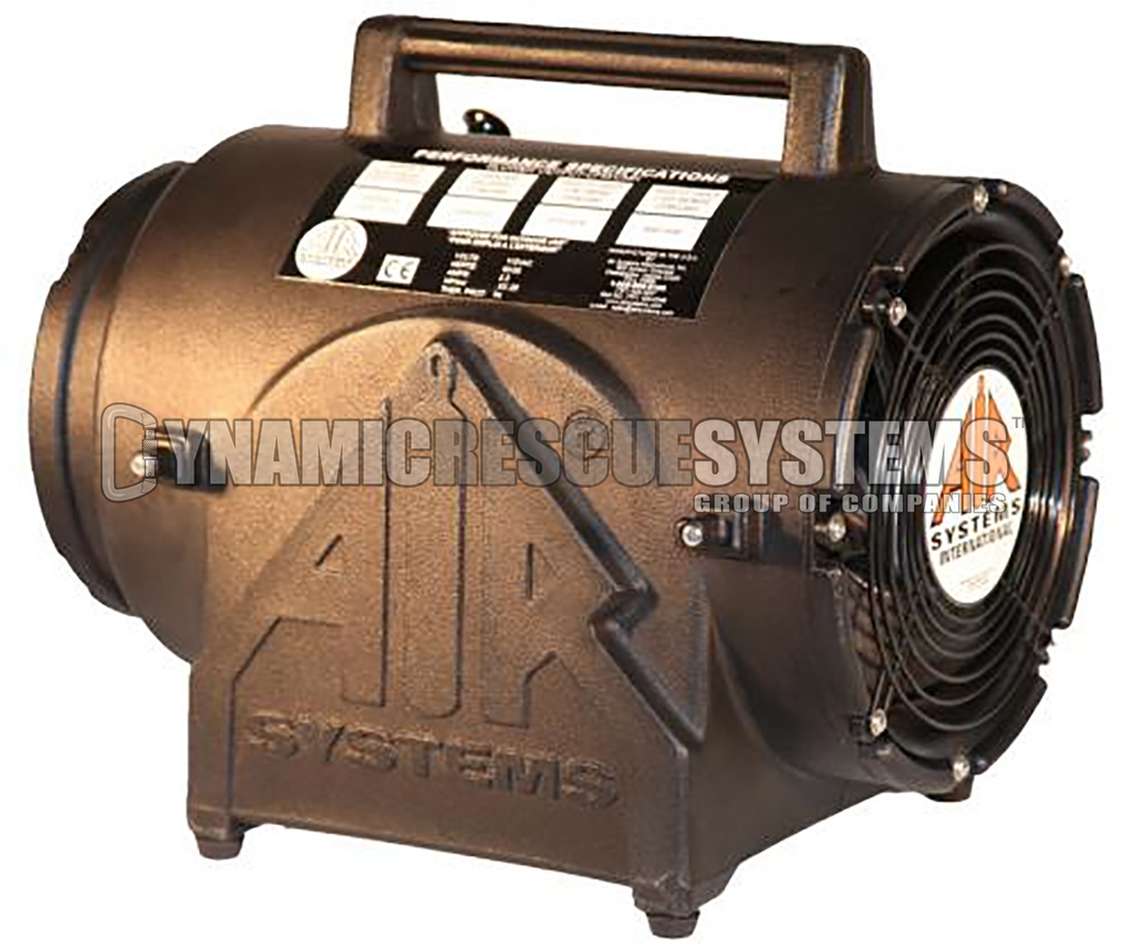 Explosion Proof AC Axial Fan only, 115 VAC - CSA, Intrinsic, Air Systems - Air Systems International - Dynamic Rescue