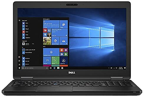 Dell Latitude 5580 HD 15.6 Inch Business Laptop Intel Core i5-6300U, 8GB Ram, 256GB SSD, Win 10 Pro (Renewed)