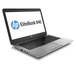 HP EliteBook 840 G2 Core i5-5300U 2.3GHz, 8GB Ram, 180GB SSD, Windows 10 Pro, 14in, Webcam, (Refurbished Laptop) - Discount Laptops Desktops Computers Tablets