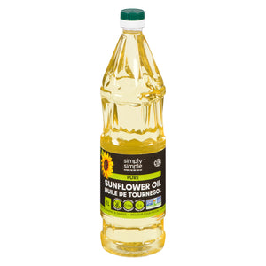 Simply Simple Sunflower Oil - Pure 1L (Pack of 6)