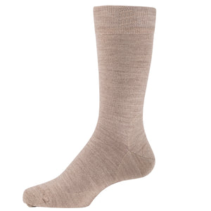MEN'S PLAIN MERINO SOCK