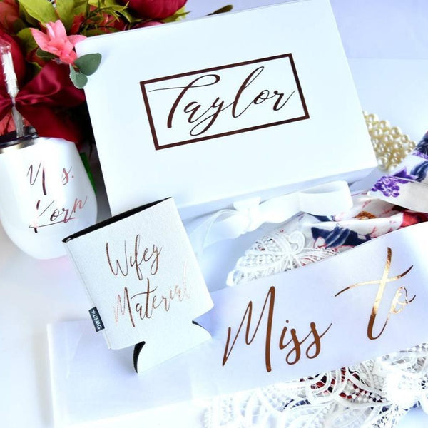 Personalized Bride Gift Box
