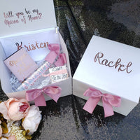 Personalized Proposal Box with Gifts