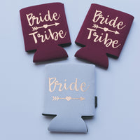Bride Tribe Can Cooler Set