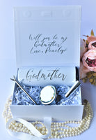 Godmother Proposal Box, Will You Be My Godmother, Godmother gifts