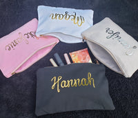 Large Personalized Make-Up Bag
