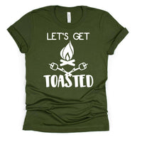 Let's Get Toasted Graphic Tshirt