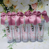 Custom Tumbler with Straw and Bow, Godmother, mother of the bride, mother of the groom