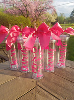 Set of 8 Custom Bridesmaid Tumblers