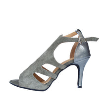 Load image into Gallery viewer, Latin Dance Shoes. Toned Down Chique. (Custom Heel Height)