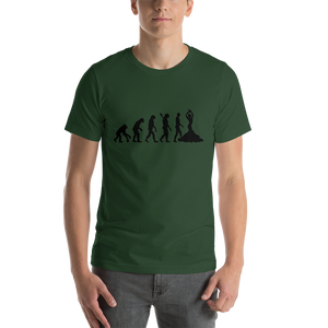 Truth About Human Evolution Short-Sleeve Unisex T-Shirt