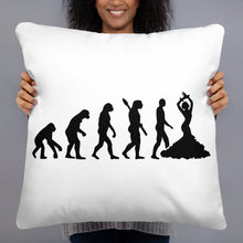 Load image into Gallery viewer, Palos of Flamenco and Evolution Throw Pillow