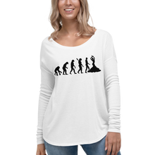 Load image into Gallery viewer, Truth About Human Evolution Women's Long Sleeve T-Shirt