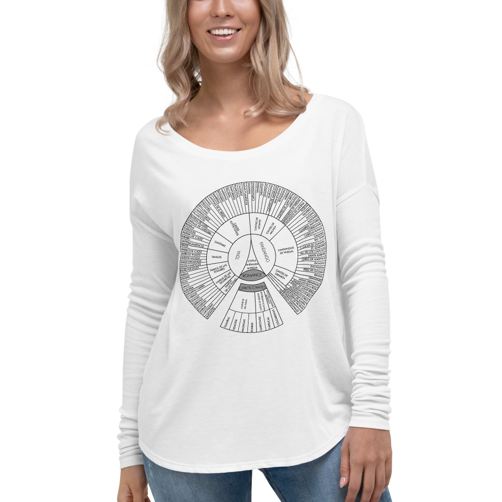 Palos of Flamenco Women's Long Sleeve T-Shirt