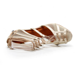 Latin Dance Shoes. The Strappy Lace Up Sandal.