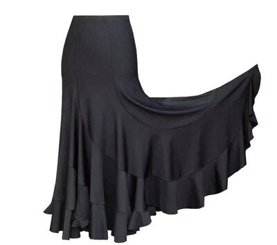 Flamenco Dance Practice Skirt Spiral
