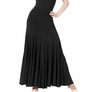 Flamenco Dance Practice Skirt Straight Various Colors