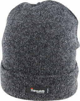 Ragg Wool Beanie With Thinsulate Lining