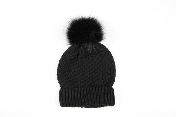 Betty Basics Stellar Knit Beanie - BLACK