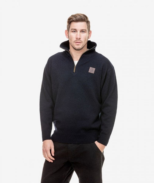 Swanndri Mariner Zip Neck Sweater