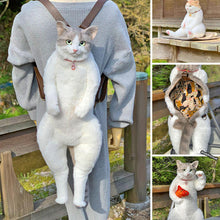 Load image into Gallery viewer, A cat backpack with posable arms and legs! - hygiene sanctuary