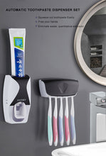Load image into Gallery viewer, Wall Mount Automatic Toothpaste Dispenser - hygiene sanctuary