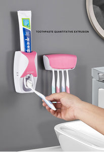 Wall Mount Automatic Toothpaste Dispenser - hygiene sanctuary