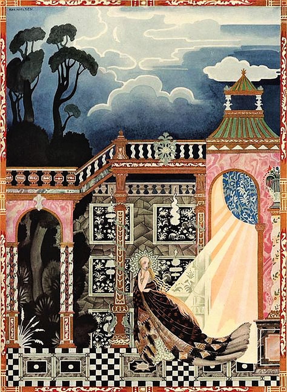Fairytale & Folklore Stickers - Kay Nielsen, Magical Moments