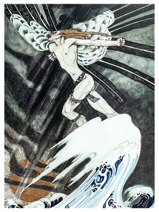 Fairytale & Folklore Poster - Kay Nielsen, North Wind, 12X16