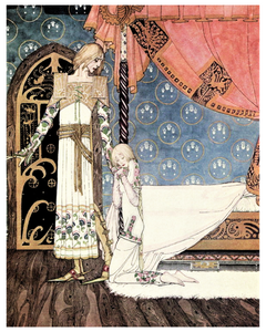 Fairytale & Folklore Poster - Kay Nielsen, East of the Sun West of the Moon, I'll Search You Out, 8X10
