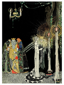 Fairytale & Folklore Poster - Kay Nielsen, Prince Lindworm, 12X16