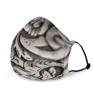 Viking Wolf Symbol Face Mask