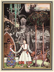 Fairytale & Folklore Stickers - Kay Nielsen, True Love